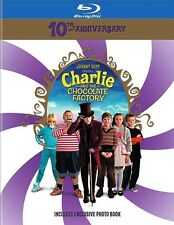 Charlie and the Chocolate Factory 10th Anniversary Blu-ray with Photo Book