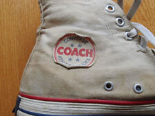 VTG 50s Converse Chuck Taylor All Star Shoes Size 9.5 10 Blue Bar Made in USA