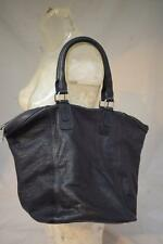 Ladies Dark Blue / Grey HOBBS Leather Handbag Shoulder bag