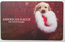 2016 American Eagle outfitters X-MAS DOG COLLECTIBLE Gift Card New No Value