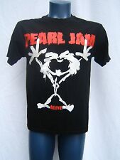 Pearl Jam Original 1992 ALIVE Concert Tour T-Shirt M Grunge SET LIST 90's Black
