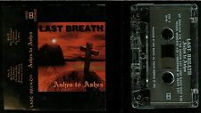 Last Breath Ashes to Ashes USA Cassette Tape private indie Thrash demo