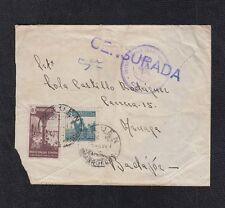 1944.- XAUEN (MARRUECOS) A AZUAGA.  EDIFIL 239 + BENF 25