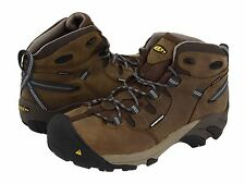 New Keen Mens Detroit Mid Steel Toe Work Safety Construction Boots Shoes Sz 13