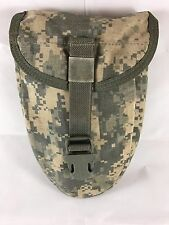 USED E-TOOL POUCH ETOOL CARRIER ENTRENCHING TOOL SHOVEL USGI SURPLUS MOLLE ACU