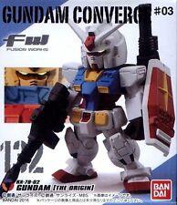 Bandai FW Fusion Works GUNDAM CONVERGE #03 No.132 RX-78-2 GUNDAM [THE ORIGIN]