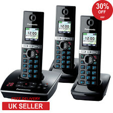 Panasonic KX-TG 8063 Trio Cordless Phone with Integrated Answering Machine New