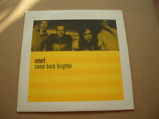 REEF - COME BACK BRIGHTER - PROMO CD SINGLE IN A CARD SLEEVE