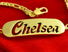 Name Bracelet CHELSEA 18ct Gold Plated Mother's Day Personalized Jewellery Gift