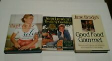 Lot of 3 Cookbooks In Very Good Condition - Daphne Oz, Joan Lunden & Jane Brody