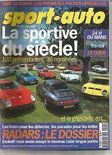 SPORT AUTO 1997 N° 425 RALLY WRC TOUR DE CORSE F1 MONACO FERRARI PORSCHE ALPINE