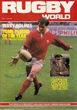RUGBY WORLD MAGAZINE MAY 1983 - PERFECT GIFT FOR A FAN BORN IN THIS MONTH