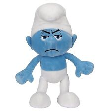 "The Smurfs - Grouchy 10"" Basic Plush "" Wave 2, New by Jakks"