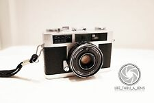 Chinon 35EE 35mm Rangefinder Film Camera with strap lomo retro