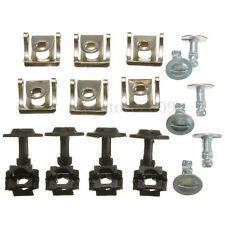 20x Undertray Guard Engine Cover Fixing Fitting Clips Screws Kit For AUDI A4 A6