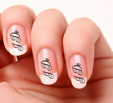 20 Nail Art Decals Transfers Stickers #798 - Wedding  I DO nail art