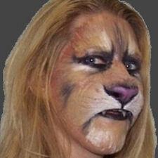 Feline/Lion/Big Cat Nose Prosthetic, for fancydress, LRP, LARP