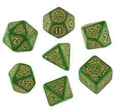 Q-Workshop Pathfinder RPG Dice Set (7 Polyhedral) Jade Regent SPAT44