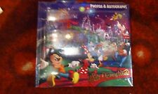 Disney Mickey and Friends Autograph Book Photo Album With Pen New and Sealed