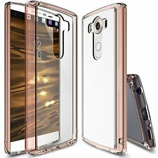 LG V10 Case | Ringke [FUSION] Clear Shockproof Drop Protective Bumper Case Cover