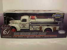 1946 CHEVY TRUCK MEDIUM DUTY Diecast 1:16 HIGHWAY FIRE DEPARTMENT 16 inch White