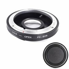 Adapter w/ Optical Glass For Canon FD FL Lens to Canon EOS EF 5DS 7D 760D 750D