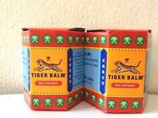 2 x 30g RED TIGER BALM MASSAGE OVER-THE-COUNTER& PAIN RELIEF BIG JAR FREE SHIP