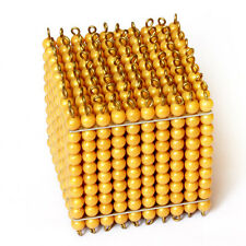 New Montessori Material Golden Bead Thousand Cube