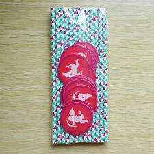 25x Valentine's Day Paper Straws with 25 Love Sticker Tags Party Decor Pattern 1