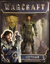 Warcraft Lothar 6in. Action Figure With Accessory New 2016 Jakks Pacific