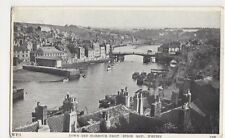 Whitby, Town & Harbour from Spion Kop 1966 Postcard, B418