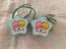 Vintage Sanrio Little Twin Stars Ponytail Hair Holders