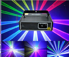 2x 1W RGB DMX Full Color Laser - Auto Sound Program DJ Stage Effect 1000 mW