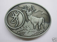 Browning belt Buckle Browning Guns Clay Pigeon buckle Hunting Shooting Belt  LRG