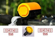 Bicycle Bell Electronic Mountain BMX Road Bike Battery Safe Ride Kids Caravan AA