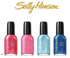Sally Hansen Hard As Nails Nail Treatment + Color Nail Polish, Set/Lot of 4