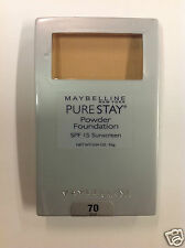 Maybelline Pure Stay Powder Foundation #70 SAND NEW.