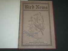 1909 BIRD NEWS BOUND VOLUME NO. 1 - AGRICULTURAL SOCIETY OF CALIFORNIA - II 3761