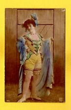 Steiglitz 1904 French Female Model in night clothes, airbrushed color R&G 105/7
