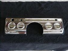 1949 Mercury Chrome Dash Panel and Gauges, NICE CHROME, OEM Gauges NO RESERVE