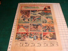 Orig. Comics:  1 page 3-30-1941 full page TARZAN, 4ACES, TAILSPIN TOMMY