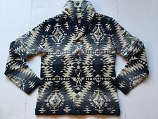 Ralph Lauren Denim and Supply Southwestern Beacon Cotton Shawl Cardigan-MEN- XL