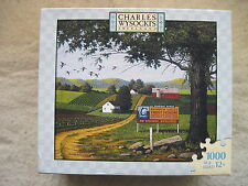 Charles Wysocki - ANGLER'S EDEN - 2007 - 1000 piece puzzle