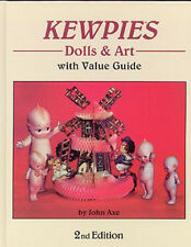 KEWPIES DOLLS & ART VALUE GUIDE BOOK 2nd Edition by John Axe - Hardcover