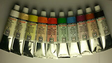 84 Colours Range. Any 10 Pack Maestro Pan High Quality Artist's Oil Paints 45ml