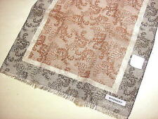 GIVENCHY Long scarf Cotton Brown Black Auth New JPN Limited UV protection