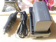 5HR Battery+Charger for BN-VF823U JVC Everio GZ-MG135 GZ-MG255 GZ-MG365 GZ-MG575