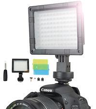 LED Videoleuchte Dauerlicht 1300 Lux Tageslicht Kameralicht Videolicht Leuchte