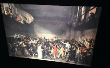 """Jacques-Louis David """"Oath Of Tennis Court"""" French Neoclassical Art 35mm Slide"""