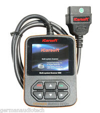 PORSCHE OBD2 DIAGNOSTIC SCANNER TOOL FAULT CODE READER ABS SRS 911 iCarsoft i960